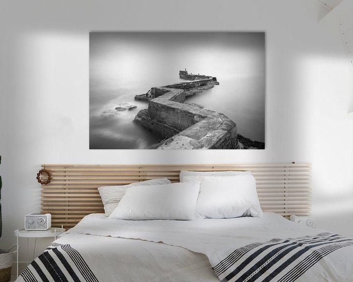Sfeerimpressie: Zigzag pier van Roelof Nijholt