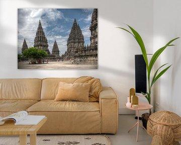Prambanan tempel Java van Andre Jansen