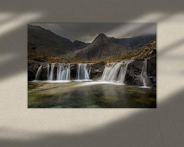Feenpools, Isle of Skye Schottland von Jos Pannekoek