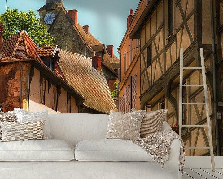 Sfeerimpressie behang: Montlucon, Auvergne van Lily Ploeg