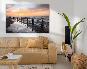 Promenade Reflection, Cape Town von Mark Wijsman