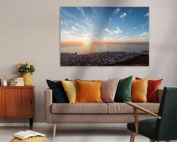 Sea Point View, Cape Town, South Africa von Mark Wijsman