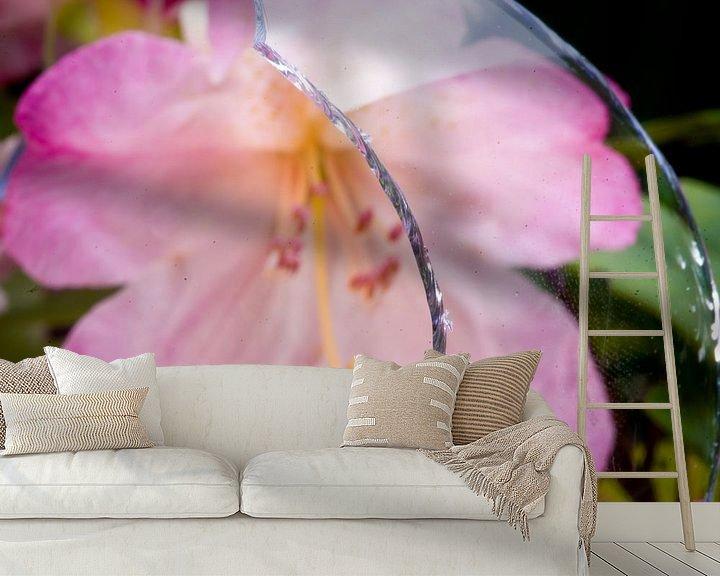 Sfeerimpressie behang: Scherf en bloei van Sybren Visser