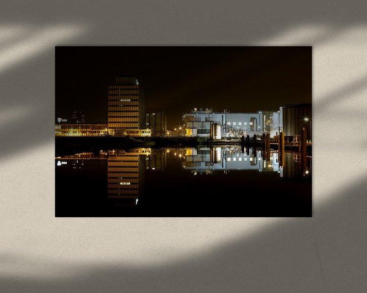 Sfeerimpressie: DSM Fabriek in Delft van Fleur Halkema