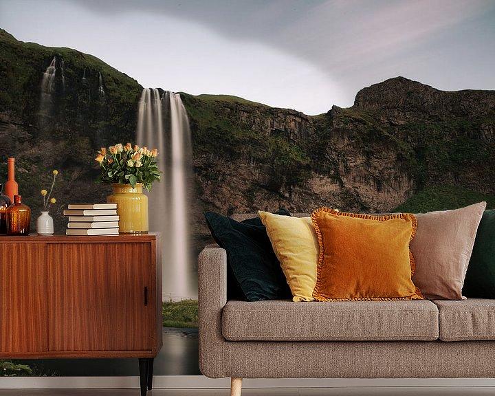 Sfeerimpressie behang: Waterval van Jip van Bodegom