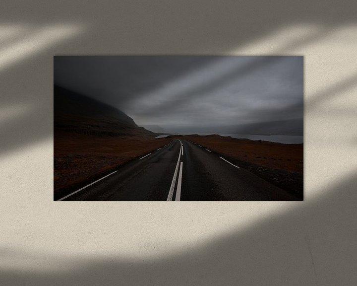 Sfeerimpressie: Snelweg van Jip van Bodegom