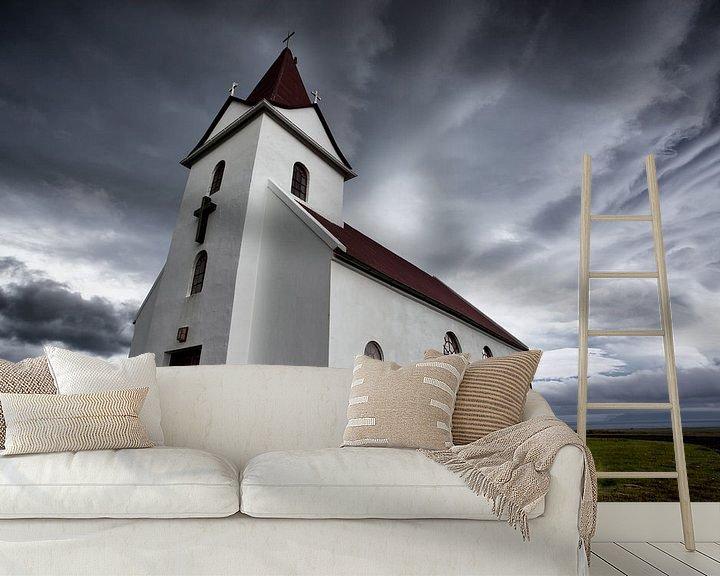 Beispiel fototapete: Kerk von Jip van Bodegom