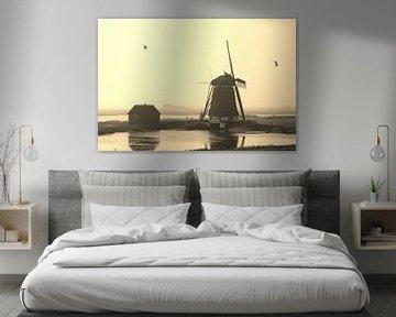 Molen op Texel van Marfa