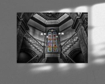 Glas in lood Academiegebouw. von Robin Pics (verliefd op Utrecht)