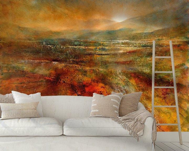 Beispiel fototapete: Sonnenaufgang von Annette Schmucker