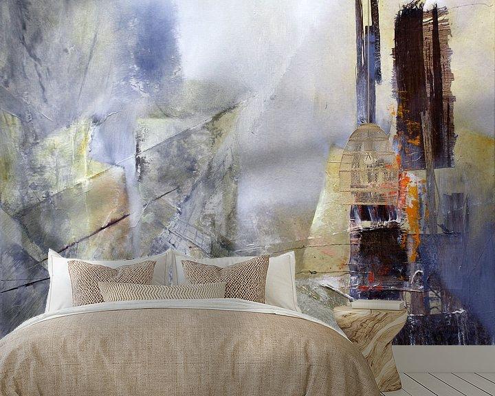 Beispiel fototapete: Abstrakte Komposition in weiss von Annette Schmucker