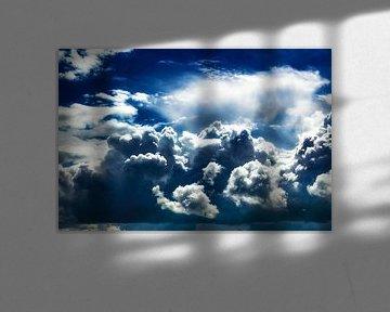 Zomers onweer van Jan van der Knaap