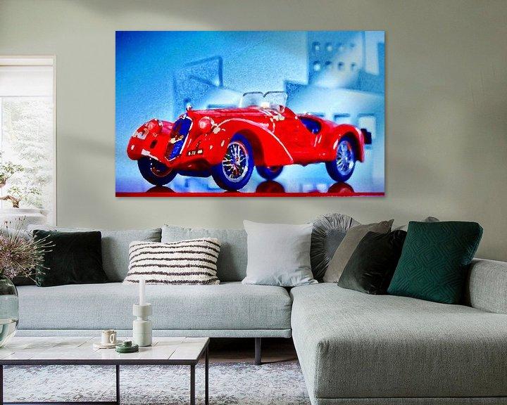 Sfeerimpressie: Bella Macchina - Alfa Romeo 2300 anno 1938 van Jean-Louis Glineur alias DeVerviers