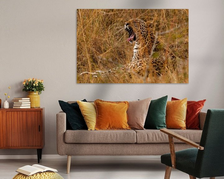 Sfeerimpressie: Luipaard van Sander Strijdhorst