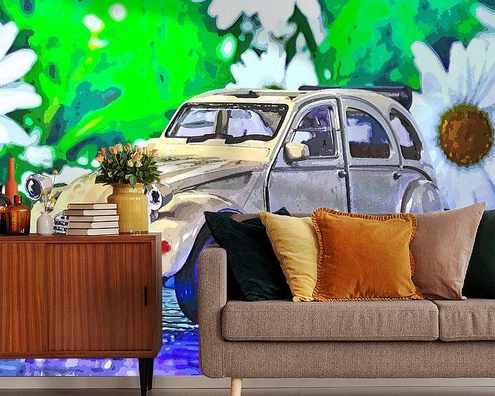 Beispiel fototapete: Döschwo alias Ente: der Citroën 2CV von Jean-Louis Glineur alias DeVerviers