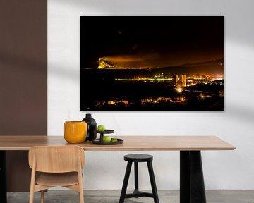 Mervilla aan de Costa del Sol Fuengirola en Gibraltar fotoposter of  wanddecoratie