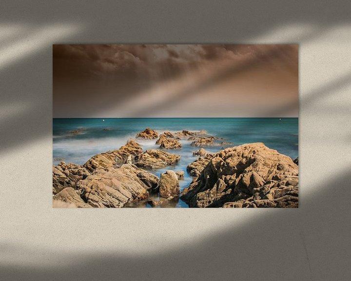 Sfeerimpressie: fotoposter of  wanddecoratie Fuengirola Strand van Edwin Hunter