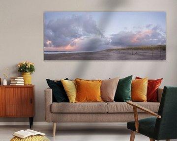 Zonsondergang aan het strand van Scheveningen van iPics Photography