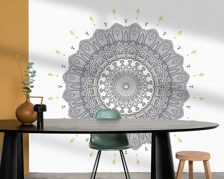 Beispiel fototapete:  Mandala Elegant von Marion Tenbergen