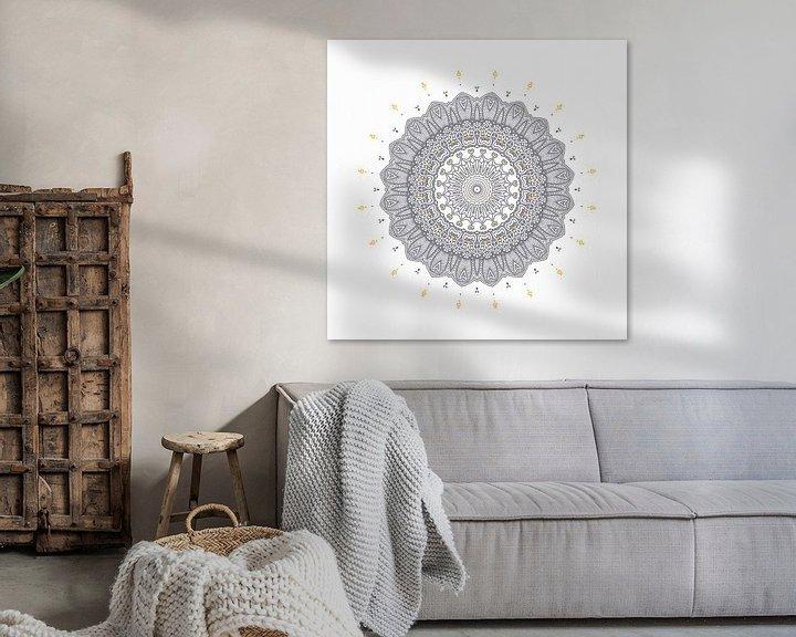 Beispiel:  Mandala Elegant von Marion Tenbergen