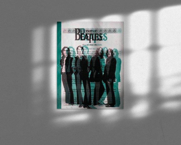 Beispiel: THE Beatles 3 D - I PAD Generation von Felix von Altersheim