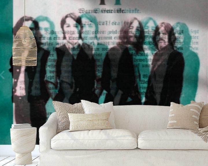 Beispiel fototapete: THE Beatles 3 D - I PAD Generation von Felix von Altersheim