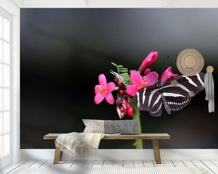 Beispiel fototapete: Vlinder von Jeroen Koppes