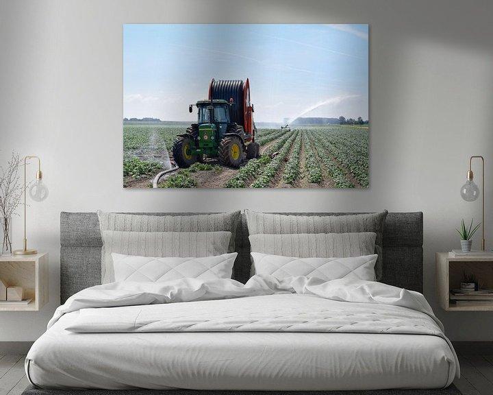 Sfeerimpressie: Boerenleven  van Roland van Tilborg