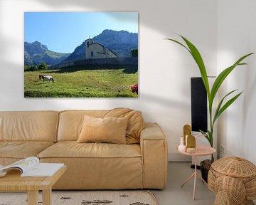 Franse bergen van Huub van Doorn
