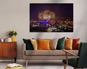 Vuurwerk Namur von Bert Beckers