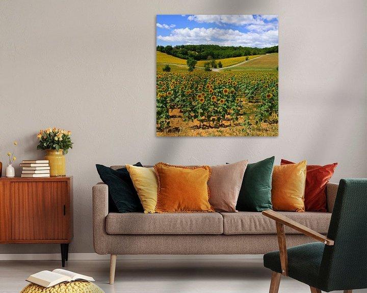 Sfeerimpressie: Zonnebloemen van Gerard Oonk