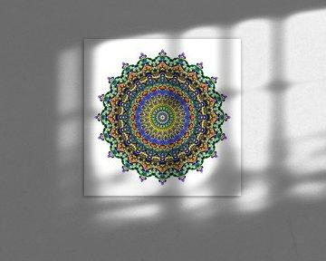 Mandala Blumentraum