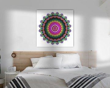 Mandala Farbenfroh