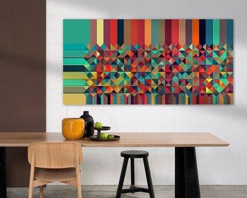 Dreieck Muster 06 von Marion Tenbergen