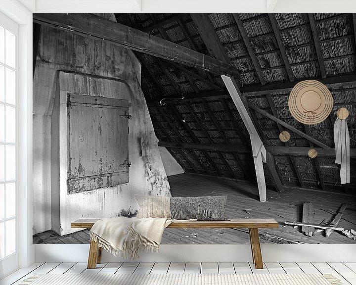 Beispiel fototapete: attic von Mariska Hofman