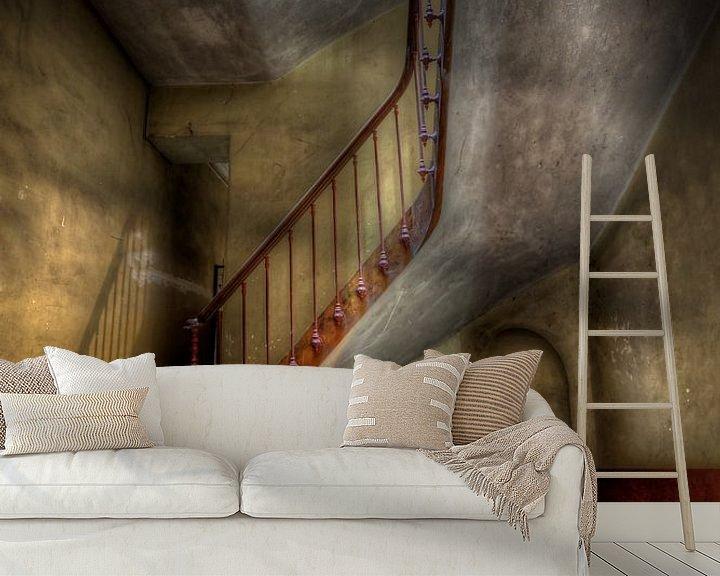 Beispiel fototapete: Urbex Stairs von Henny Reumerman