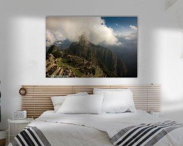 Machu Picchu, Peru, Bergen, Inca sur Ton van den Boogaard