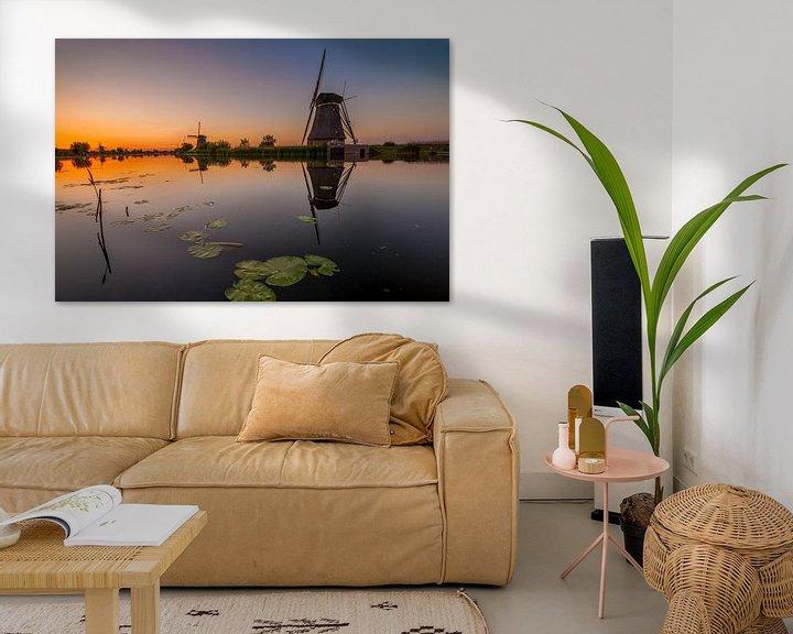 Sfeerimpressie: Mooi Kinderdijk van Marc Smits