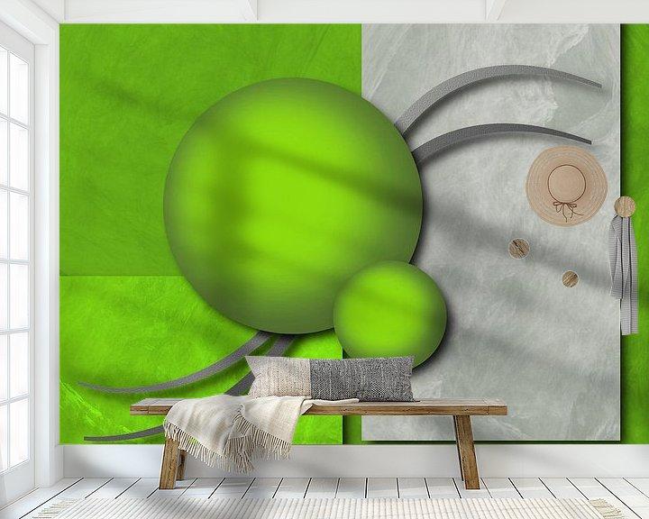 Beispiel fototapete: Modern art von Gabi Siebenhühner
