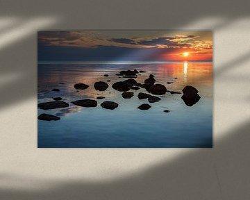 Baltic Sea Sunset von Ursula Reins