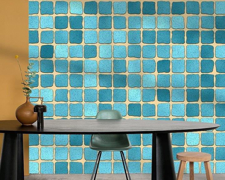 Beispiel fototapete: Stein Textur 04  von Marion Tenbergen