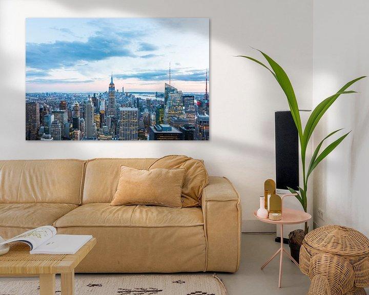 Sfeerimpressie: Uitzicht op Manhattan in de Schemering van Frenk Volt