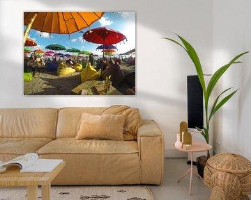 Relaxen bij La Plancha, Seminyak, Bali van Maartje Abrahams