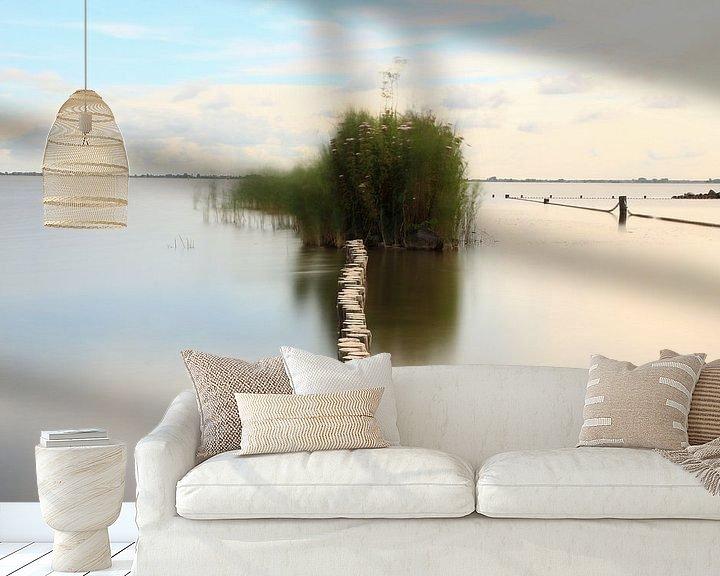 Sfeerimpressie behang: Slotermeer Friesland ( Balk ) van Fotografie Sybrandy