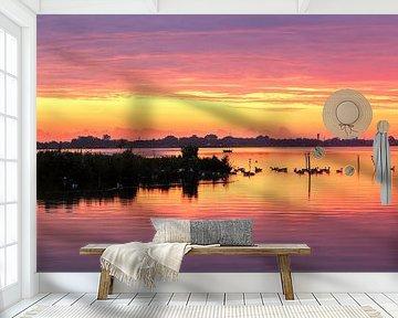 De natuur wordt wakker............ van R Smallenbroek