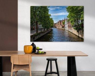 Stad Brugge Groenerei brug Meestraat van Focco van Eek