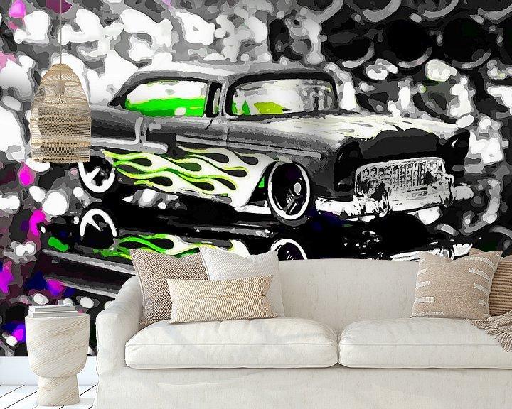 Beispiel fototapete: Street Cruiser - American Way Of Drive 8 By Jean-louis Glineur von Jean-Louis Glineur alias DeVerviers