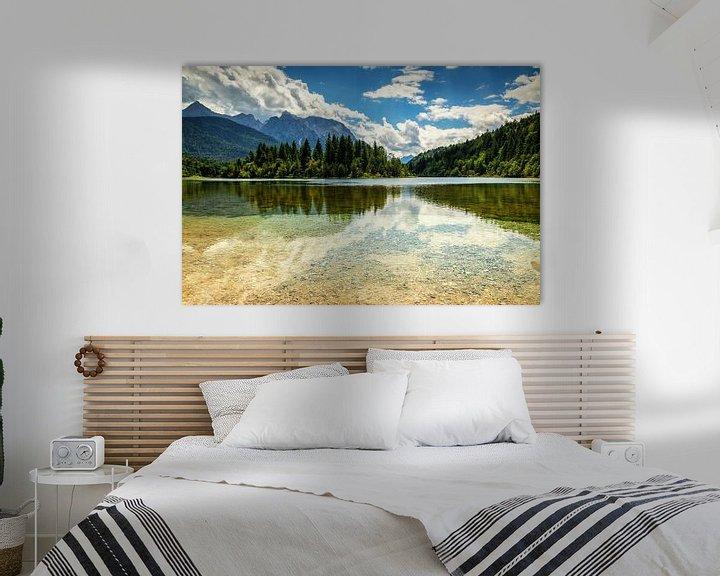 Sfeerimpressie: Reflection lake van Ilya Korzelius