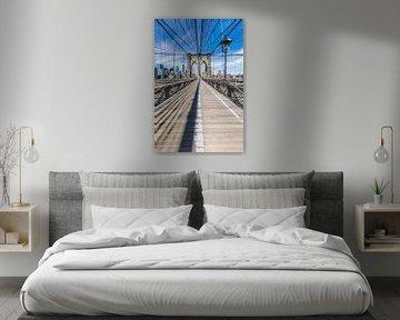 NEW YORK CITY Brooklyn Bridge von Melanie Viola