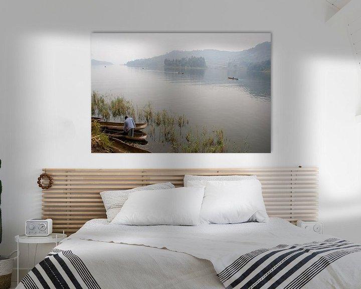 Sfeerimpressie: Stilte op het meer van Jim van Iterson